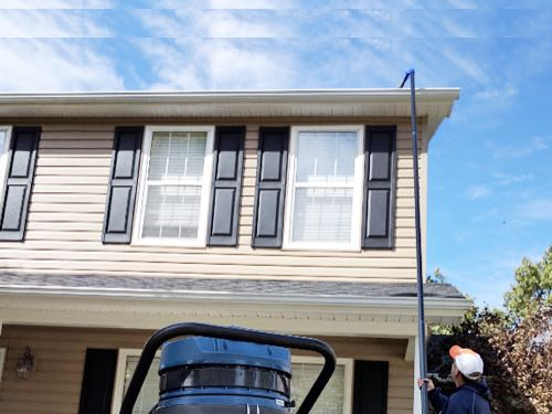 Residential Gutter Cleaning in Waukesha