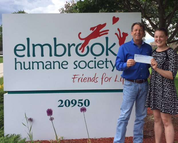 Badgerland Pressure Cleaning sponsors Elmbrook Humane Society