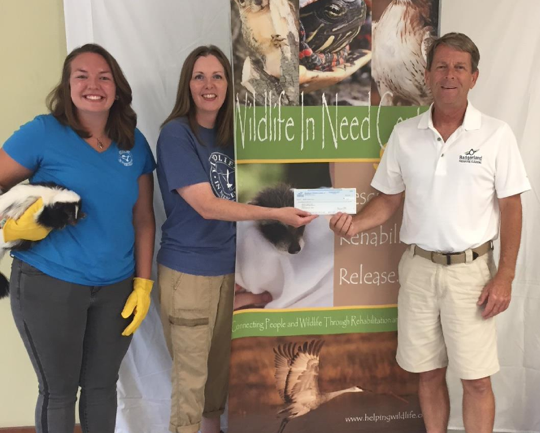 wildlife in need center supported by badgerland