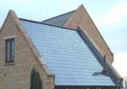 Ardoise solaire thermique pour plancher solaire direct