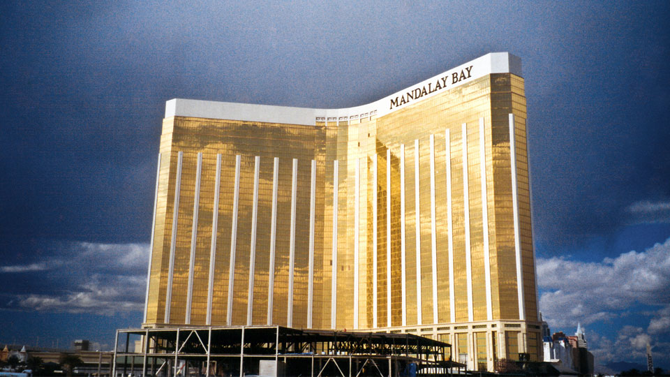 Nicholson installed micropiles at the Mandalay Bay Hotel & Casino in Las Vegas