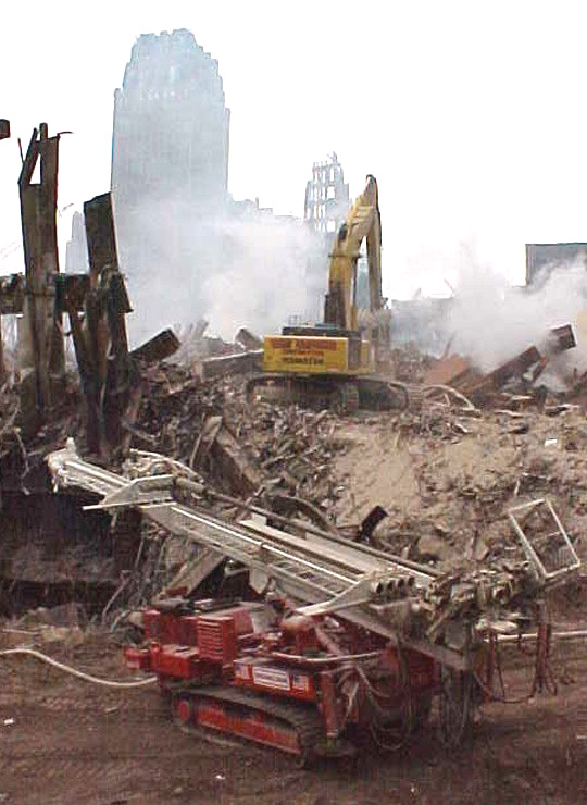 Nicholson helped stabilize the World Trade Center bathtub and facilitate recovery efforts