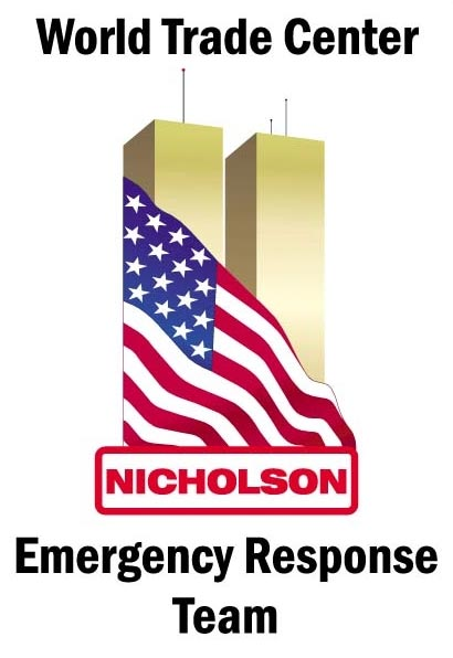 Nicholson Emergency Response Team for the World Trade Center Recovery