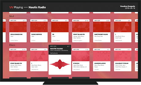 Waves is a Radio Player app for iOS, Apple TV, and Mac