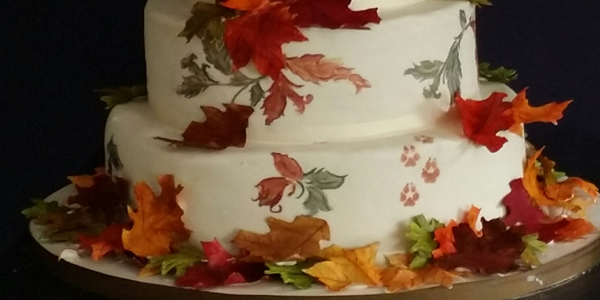 Beautiful Fall Wedding Cakes My Daughter S Cakes
