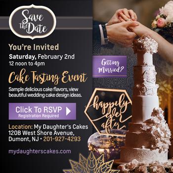 Wedding Cake Tasting Event