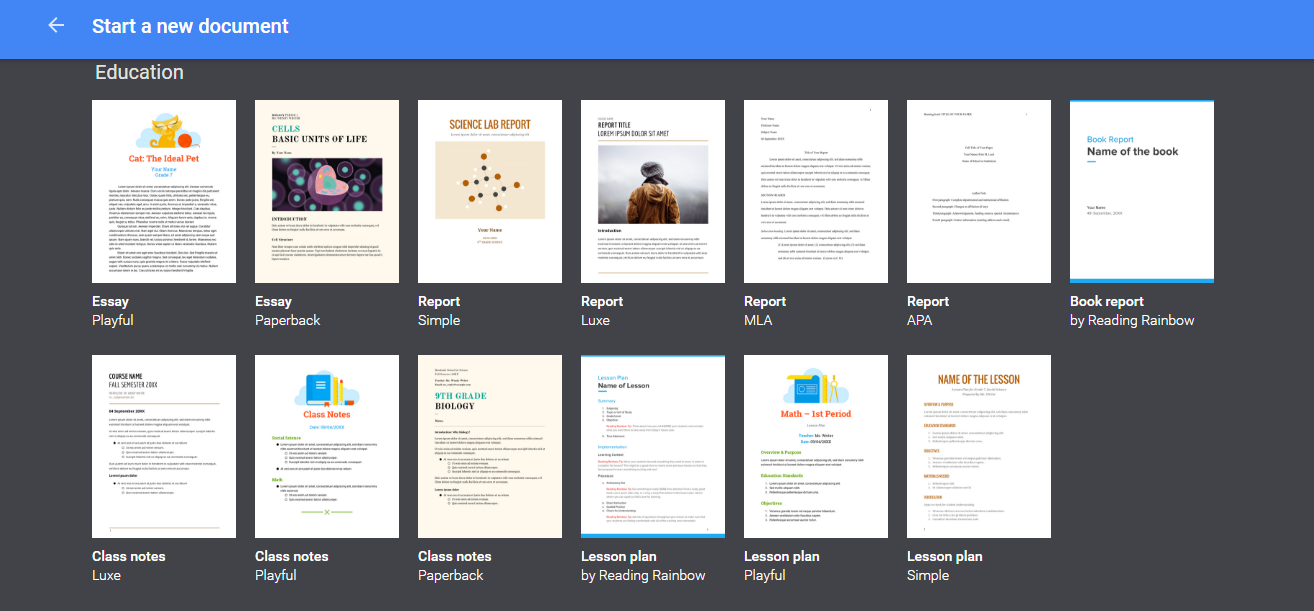 Using Google Apps Templates to Make Your Life Easier