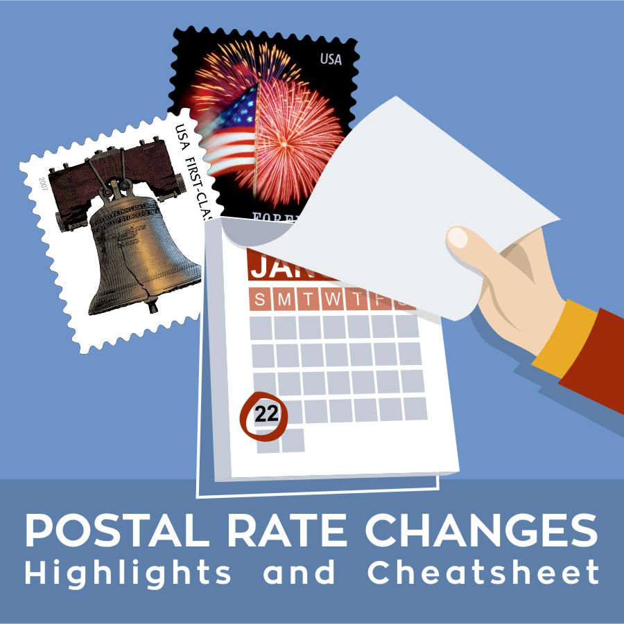 postal rate changes