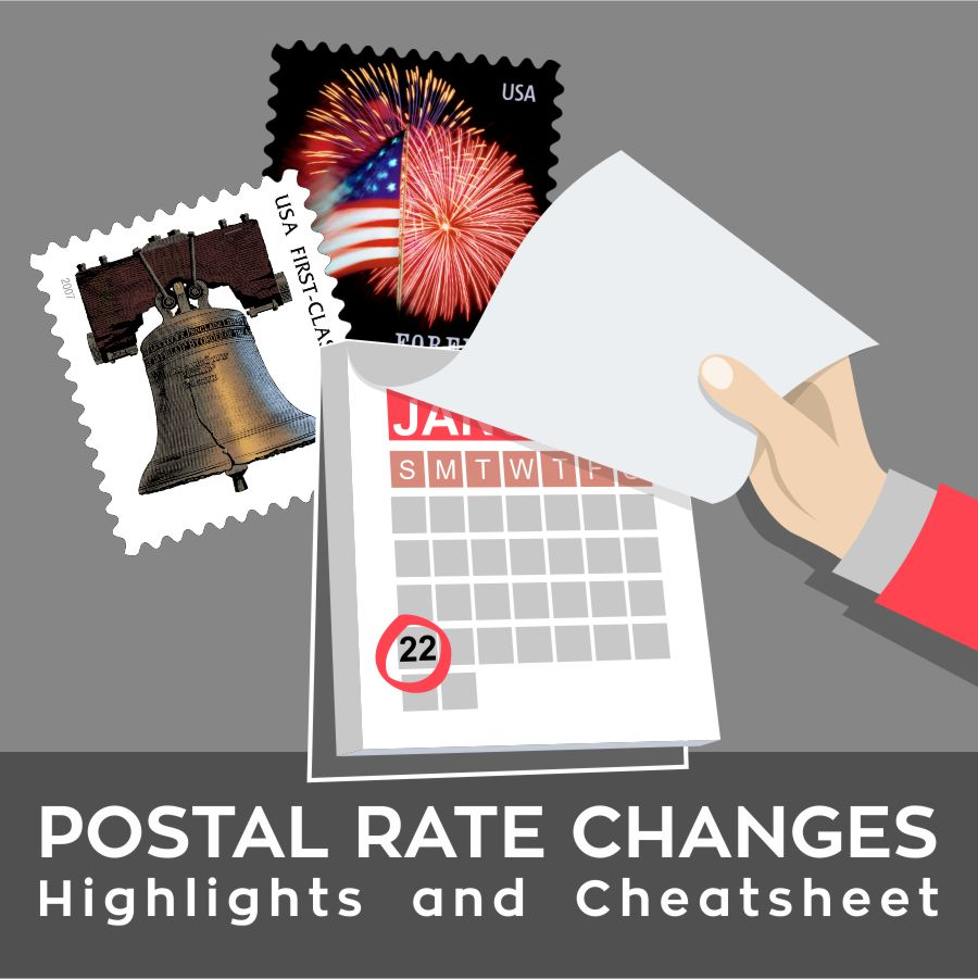 The Very Latest Postal Rates Changes  2018: Highlights and