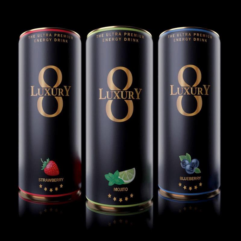 Luxury8 Energy Drink Mix