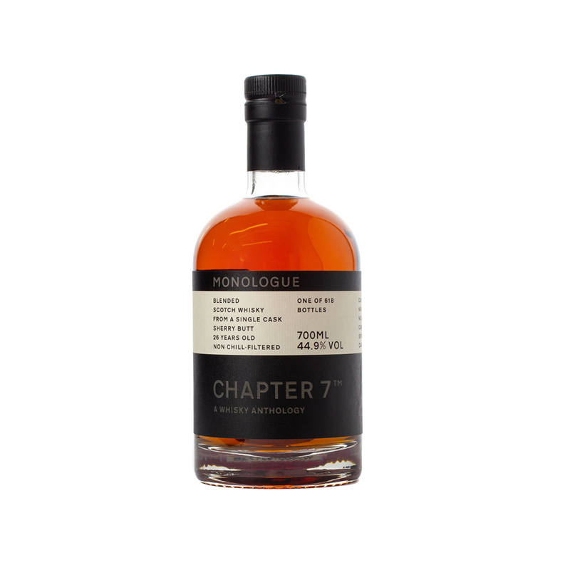 Chapter 7 Whisky - Monologue #4 Blended Scotch 1993