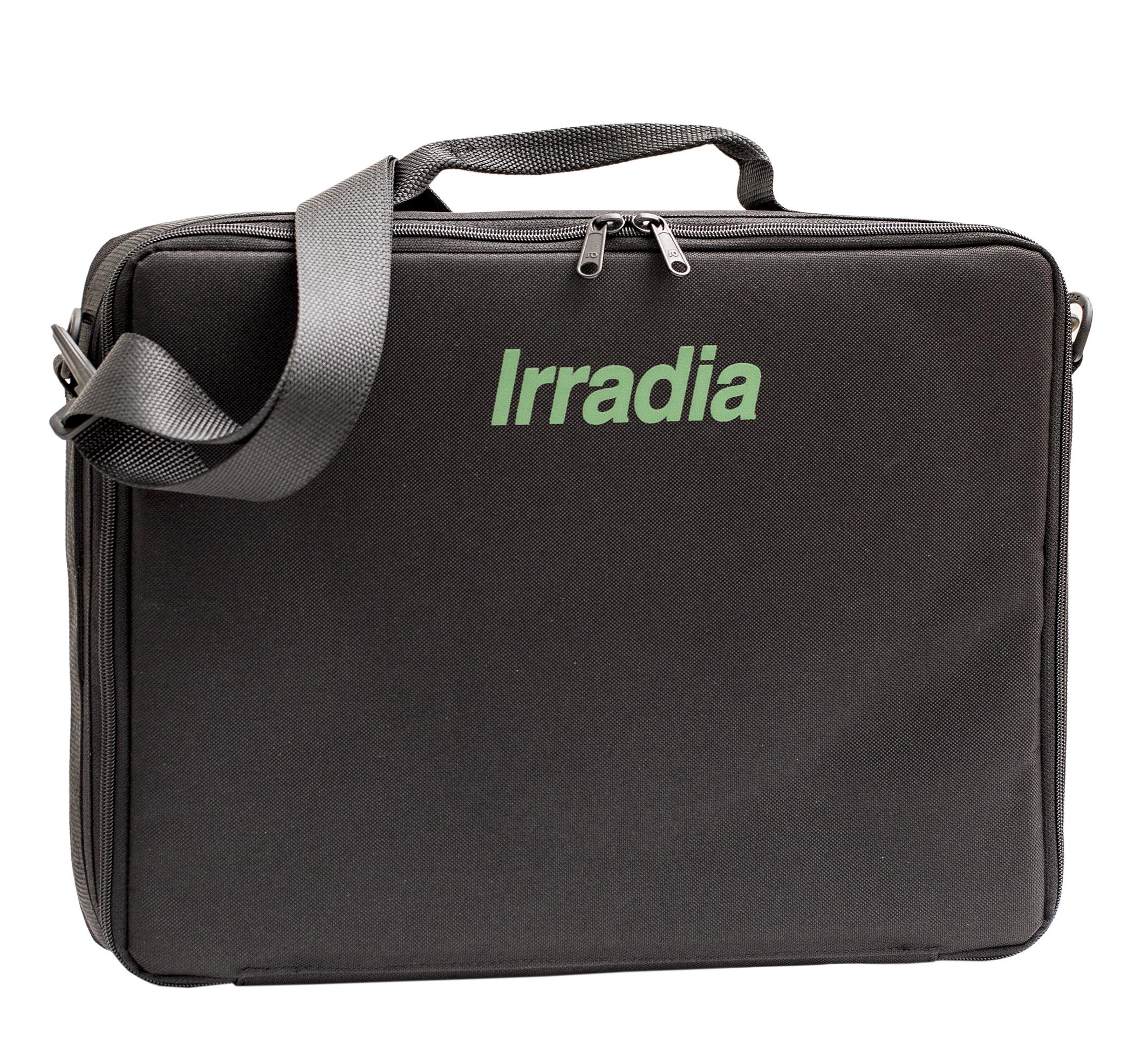 Mjuk väska med insats (Irradia logga), rymmer 4 st prober