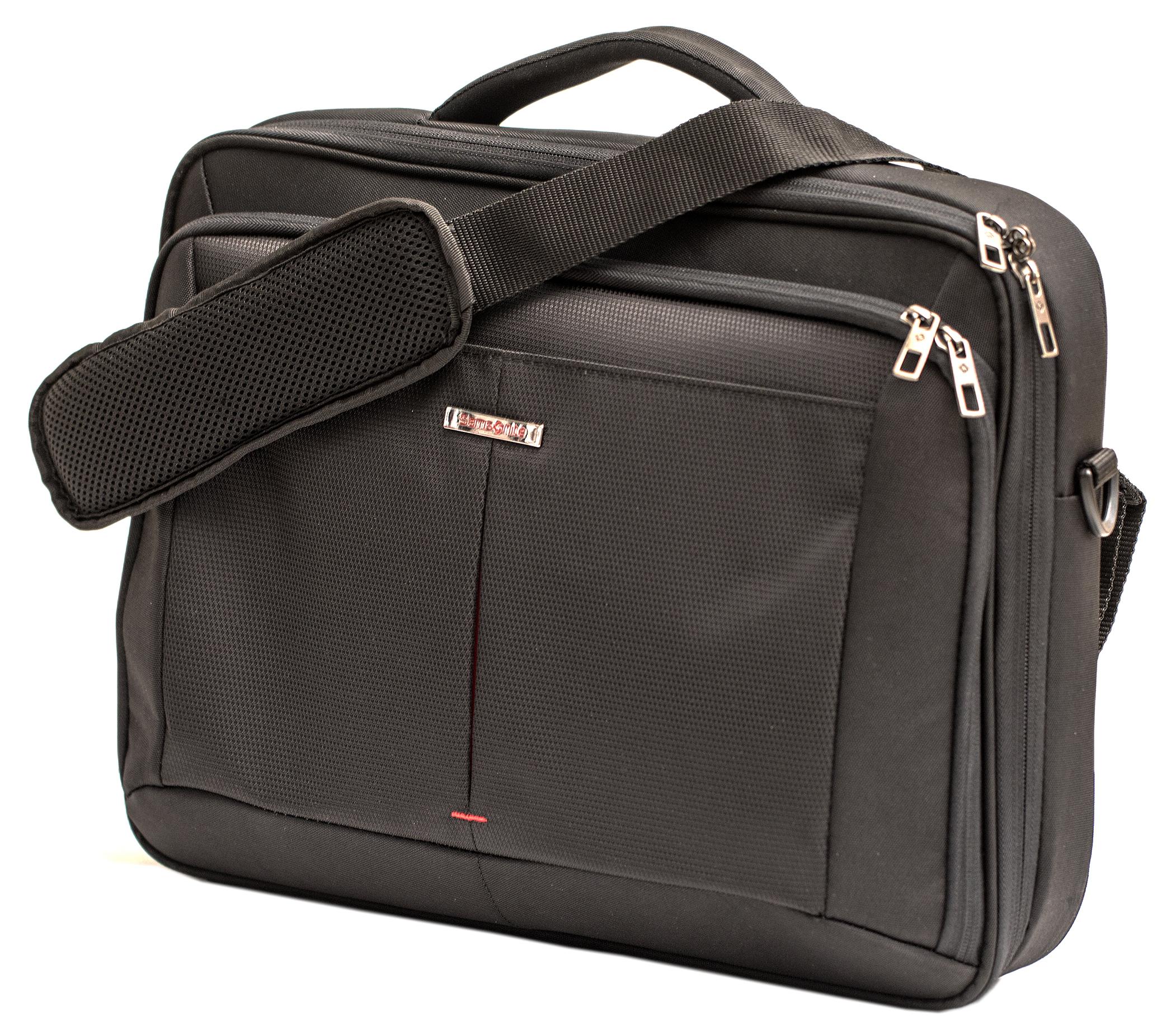 Mjuk väska med insats (Samsonite logga), rymmer 3 st prober