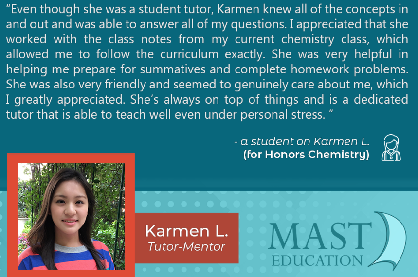 Students say that Karmen L. is a helpful and dedicated teacher