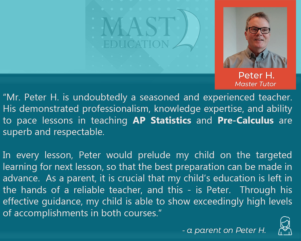 Peter H. is a seasoned and experienced Master Tutor