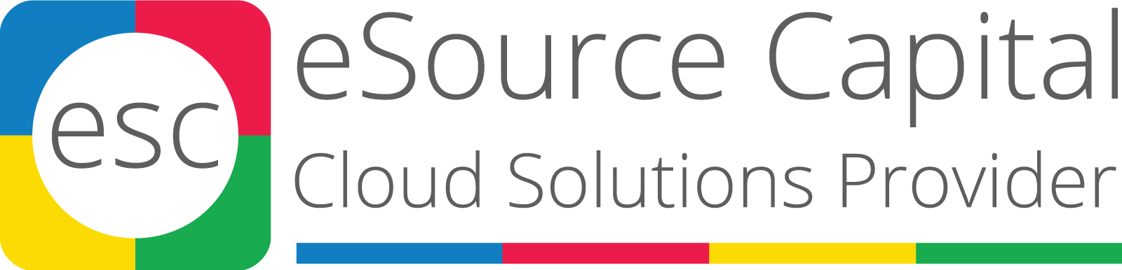 eSource Capital Logo Cloud Solutions Providers Latinoamérica