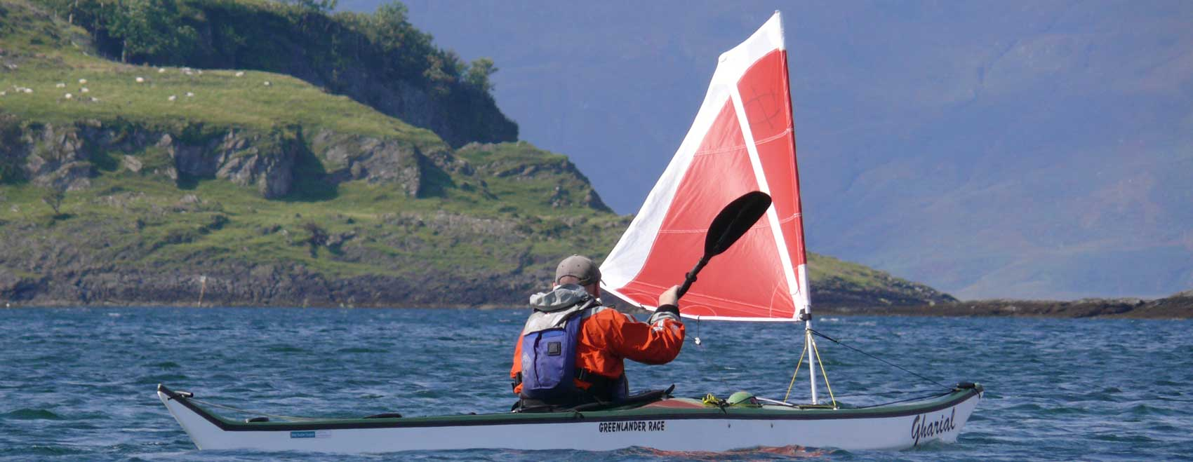 Karitek for the revolutionary Flat Earth sea kayak sails