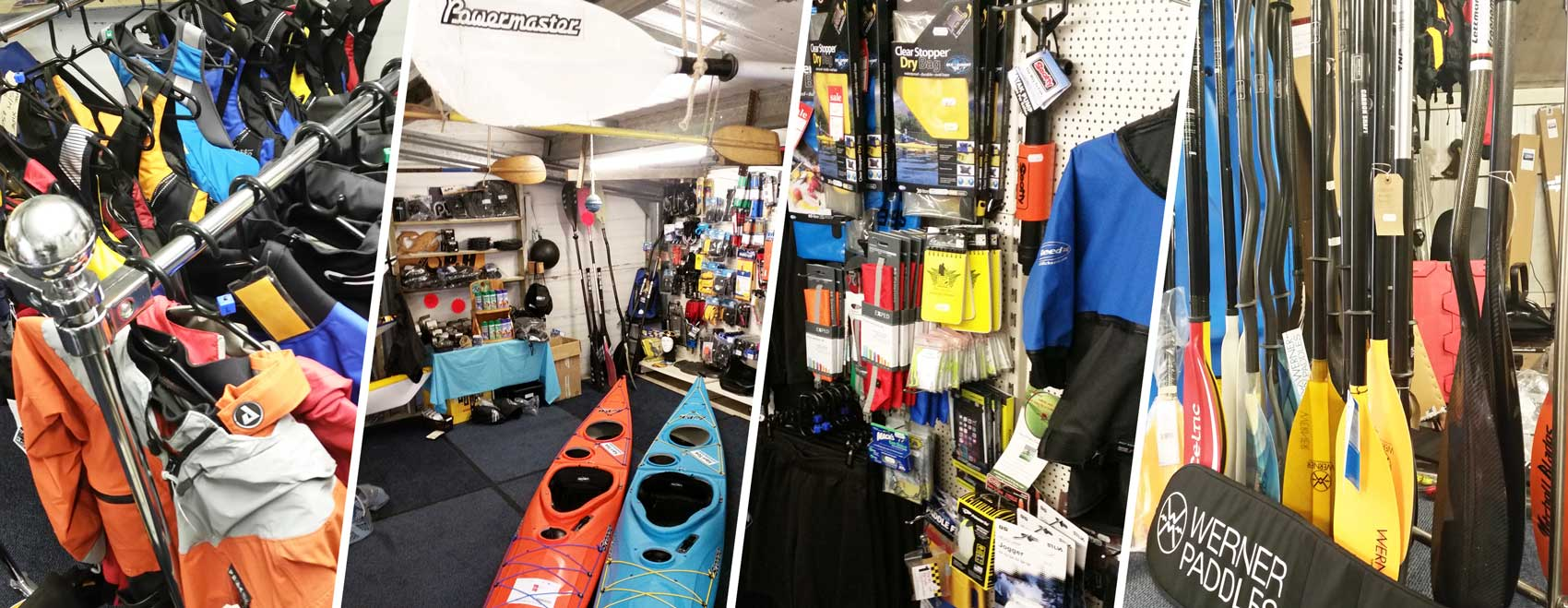 Karitek's Ayrshire kayaking gear showrom and shop
