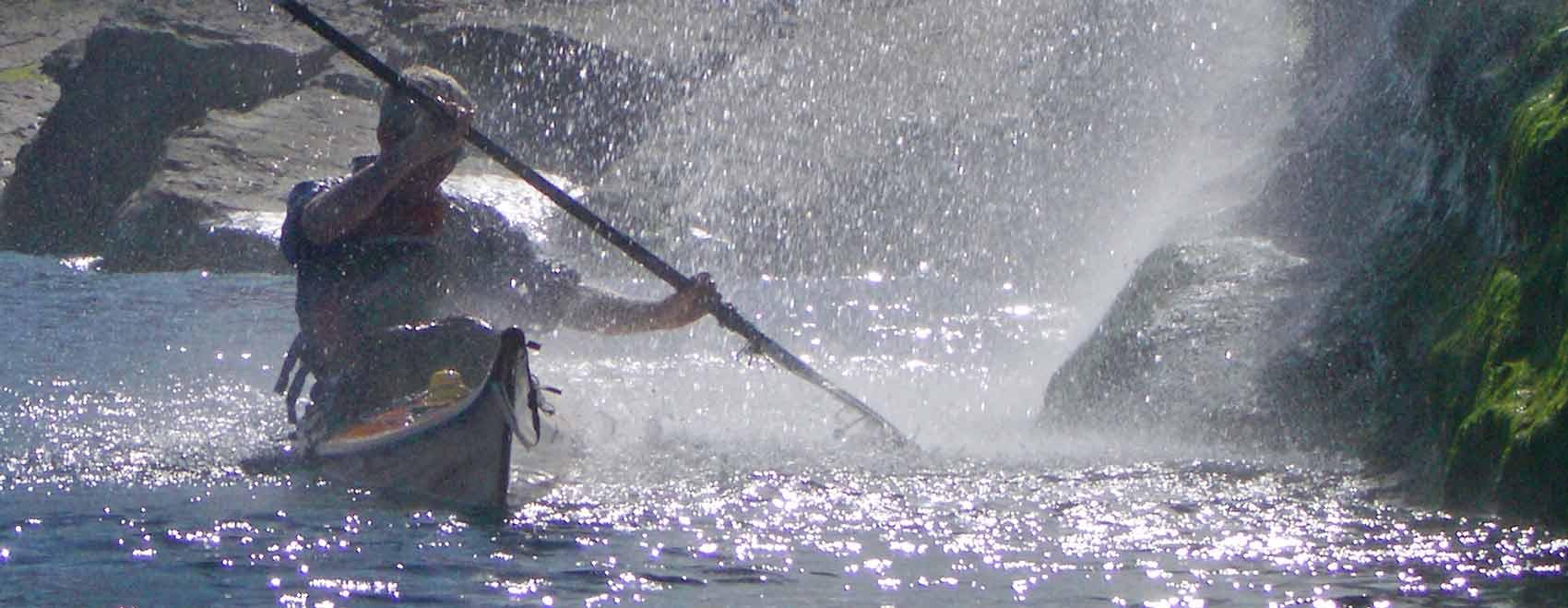Karitek for the revolutionary Flat Earth sea kayak sails