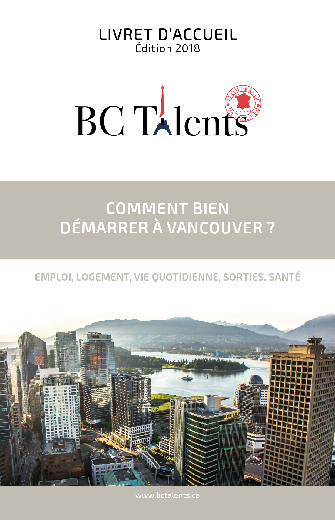 BC Talents - Article - Welcome Guide - Edition 2018