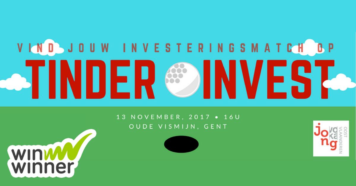 Tinder Invest: matchmaking event voor groeiende ondernemingen en investeerders