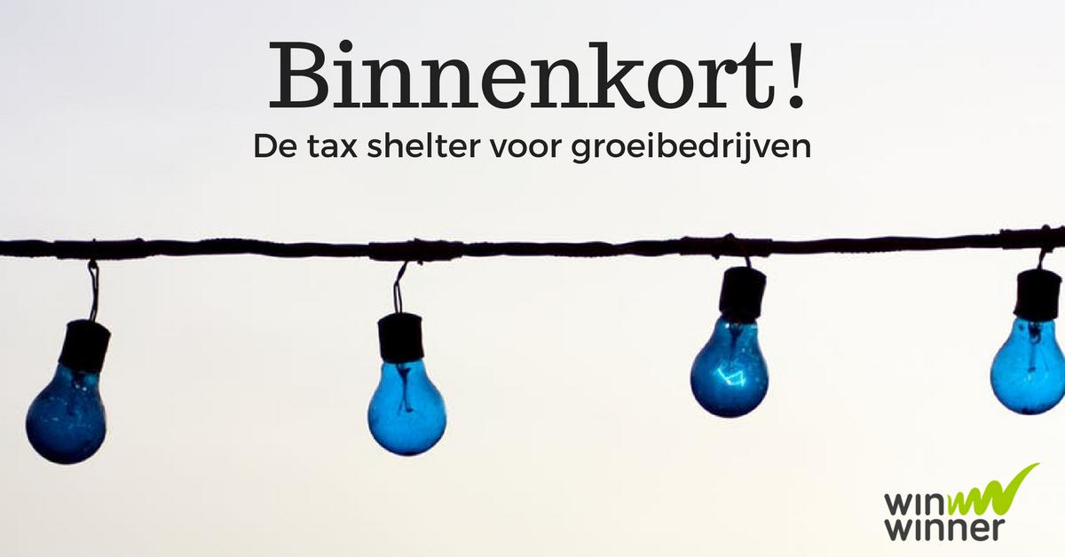 Binnenkort ook tax shelter voor groeibedrijven!
