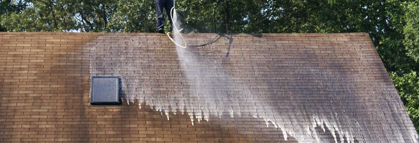 Roof Cleaning in Hendersonville