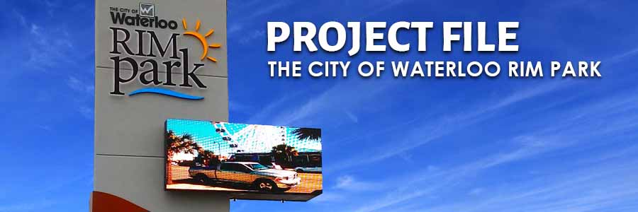 Project File: City of Waterloo RIM park