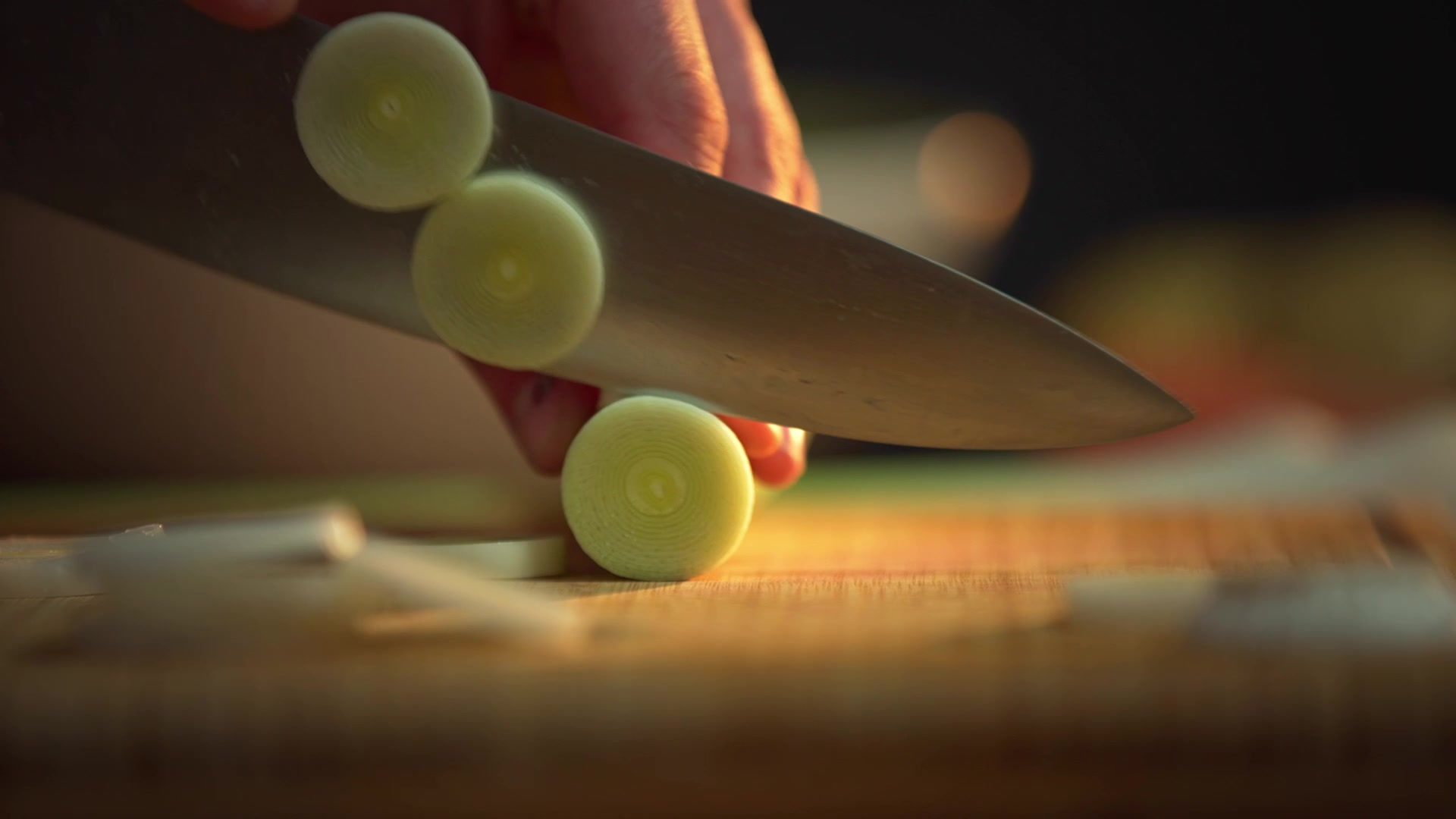 chopping food commercial