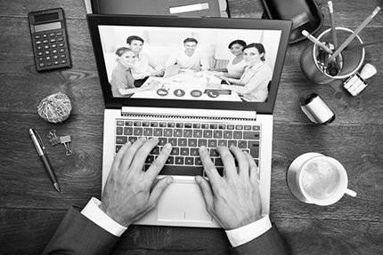 Online vergaderen en samenwerken