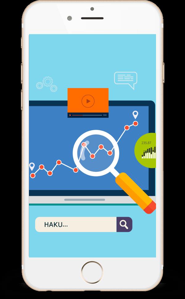 Hakukoneoptimoidut verkkosivut ovat välttämättömät yrityksen liiketoiminnan kannalta kuva Oulu
