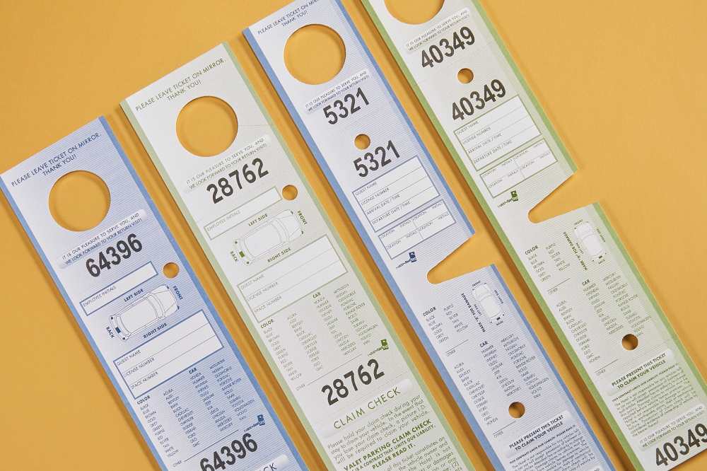 Stock Valet Tags