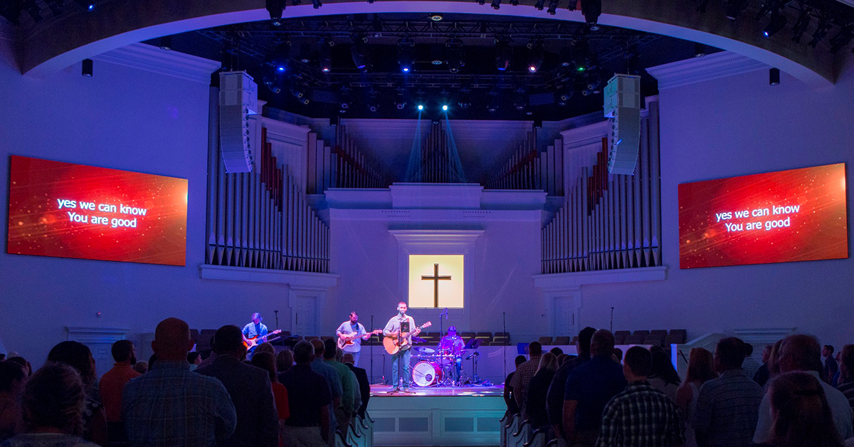 Alcons Brings Traditional And Contemporary Worship Together In Thomasville, Georgia
