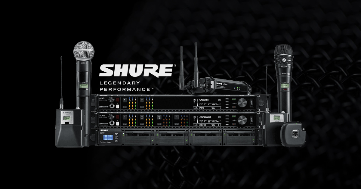 Shure Axient Digital – a tour through the backstage area
