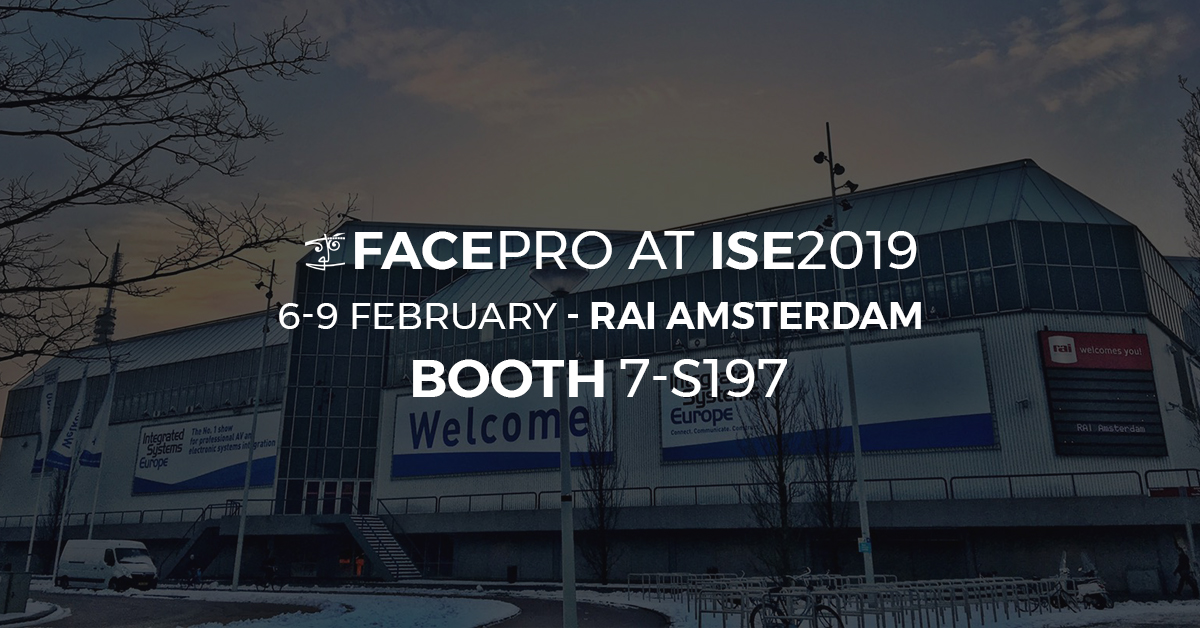 Visit FACE at ISE in Amsterdam