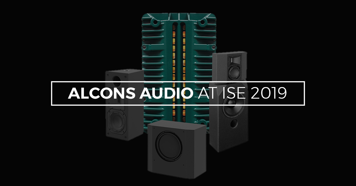 Alcons Audio Shows New Products At ISE