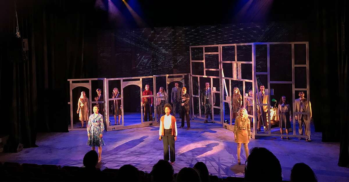 TiMax total immersion wows at Guildford School of Acting