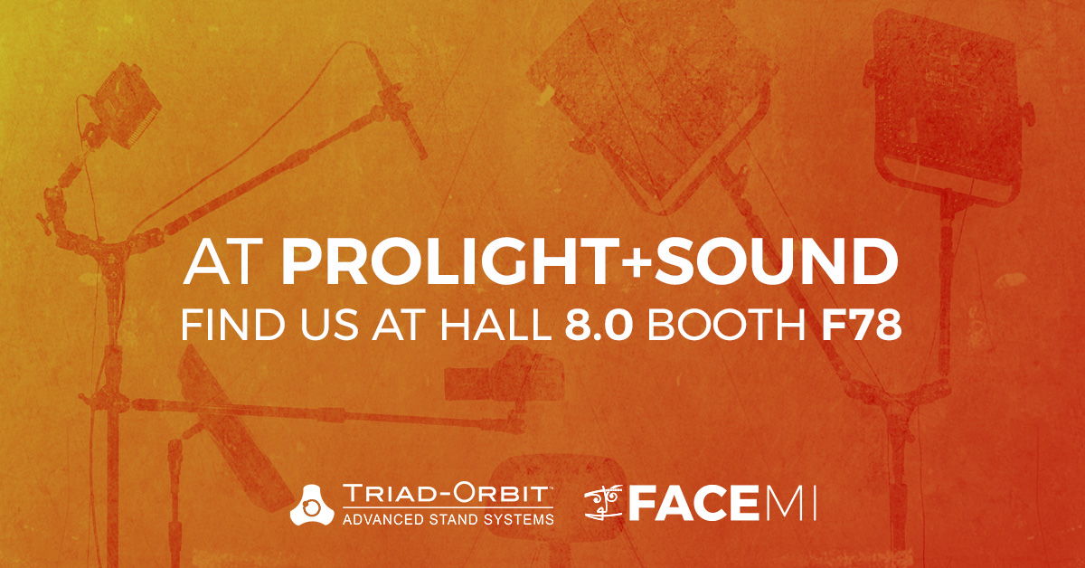 Discover the full line of Triad-Orbit solutions at ProLight + Sound 2019