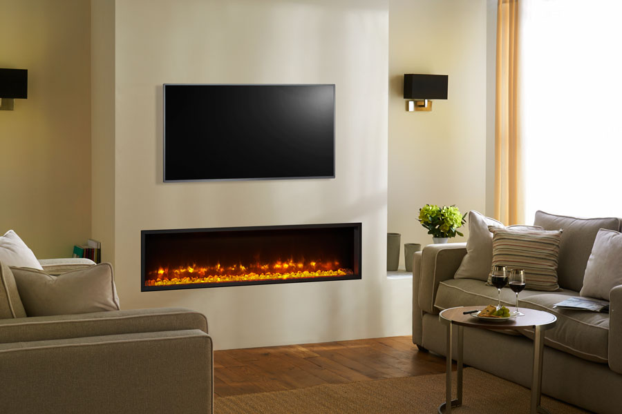 Radiance 140R Inset at Sussex Fireplace Gallery