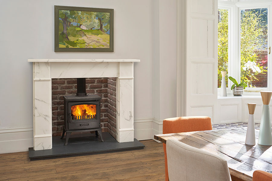 Traditional Multi-Fuel Stove Sussex Fireplace Gallery