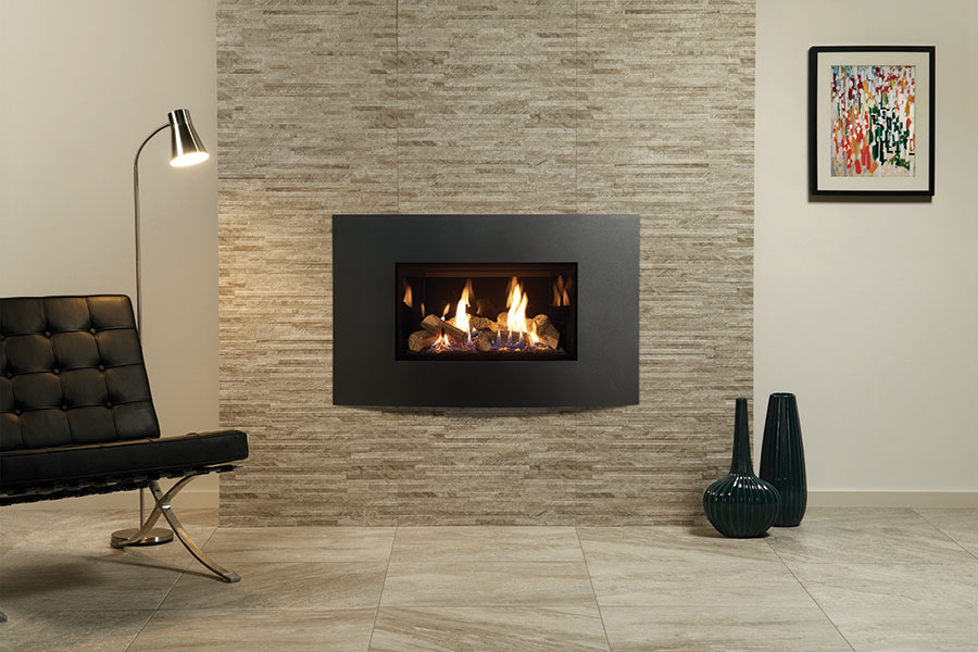 Riva2 Verve XS Graphite at Sussex Fireplace Gallery