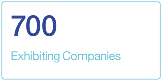 700 Exhibiting Companies