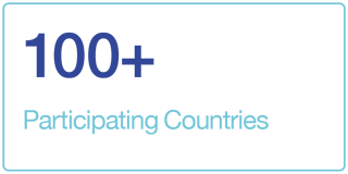 100+ Participating Countries