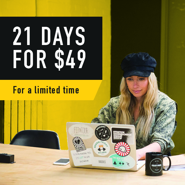 21 days of unlimited coworking in downtown Toronto