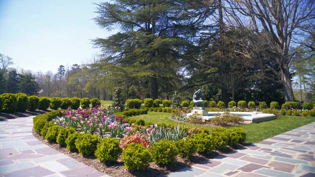 Reynolda Gardens are free to visit.