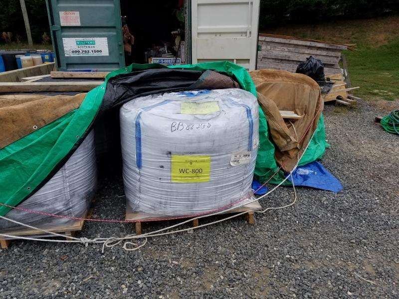 reensboro water officials have been using a temporary filtration system using powdered carbon, but a more permanent solution will be installed at the Mitchell plant. Photo by Darrell Hicks, Water Supply Maintenance Superintendent, City of Greensboro.