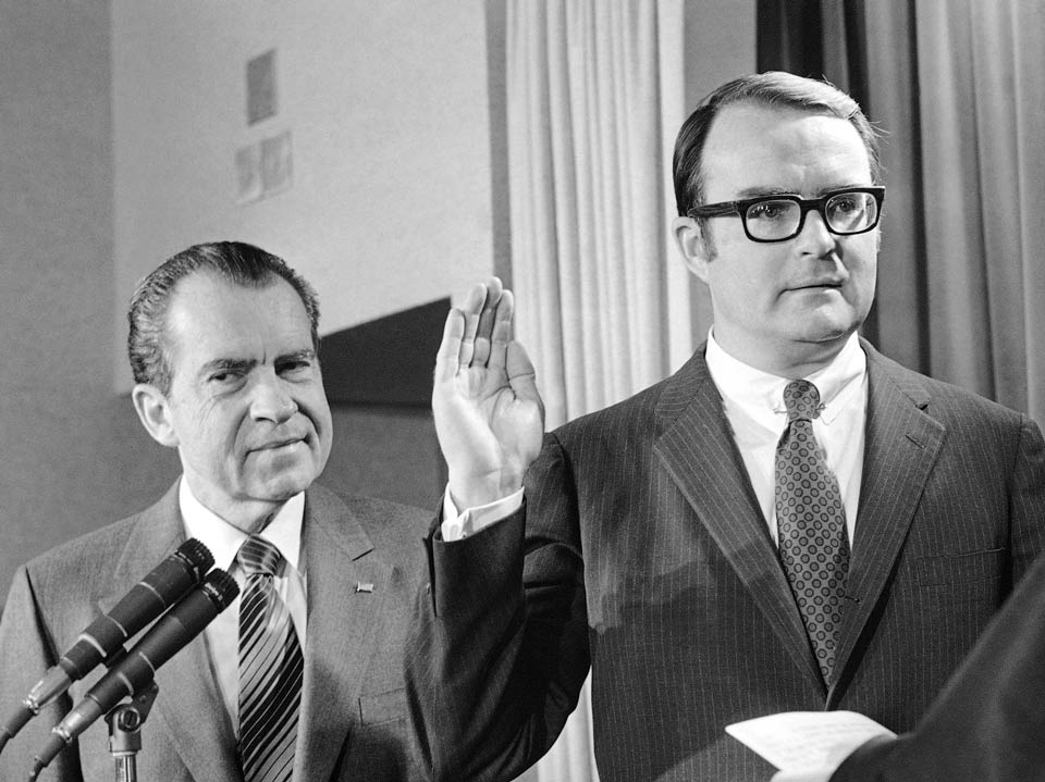 William (Bill) D. Ruckelshaus served as the Deputy Attorney General and the first Administrator of the EPA during President Nixon's administration.