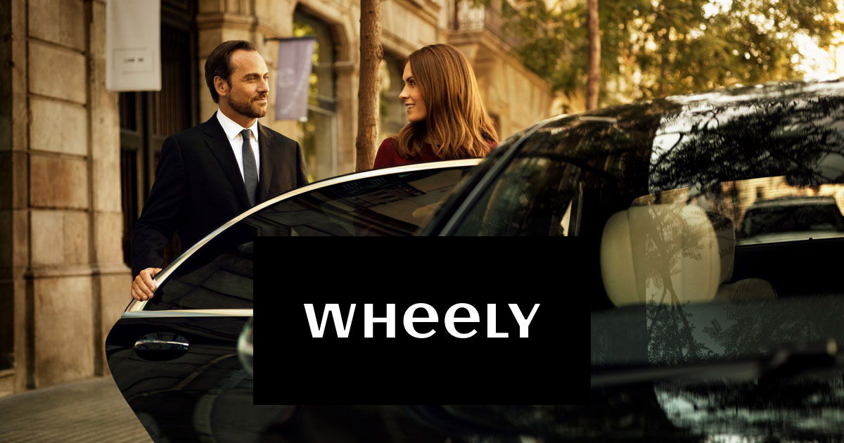 Wheely. Chauffeur-driven. Streets ahead.
