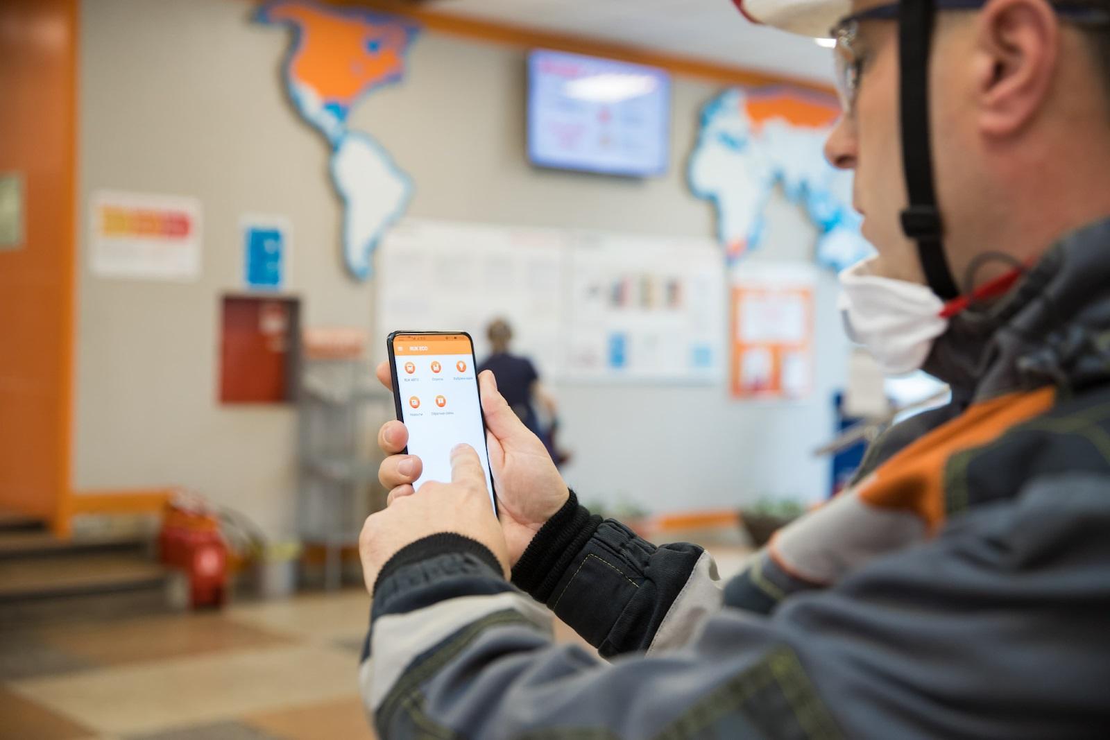 Евраз: мобильное приложение для роста производственной безопасности