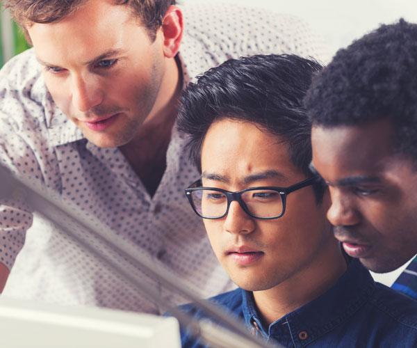programmers programming, working together, teamwork, online